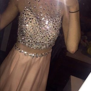 Beautiful Pink Homecoming Dress